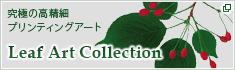 究極の高精細プリンティングアート Leaf Art Collection